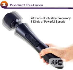 USB Rechargeable 20 Multi-speed AV Magic Wand Sex Toys | Sexual Wellness for sale in Lagos State, Ikoyi