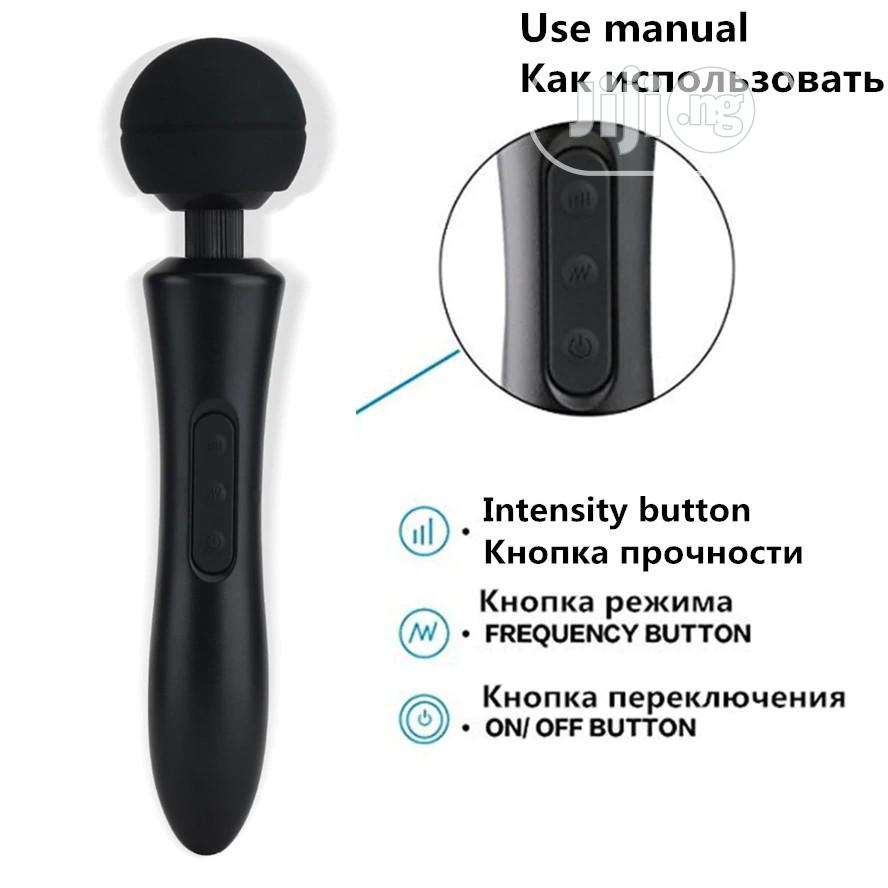 USB Silicone Dildo Body Massager Super Strong Vibrators   Sexual Wellness for sale in Ikeja, Lagos State, Nigeria
