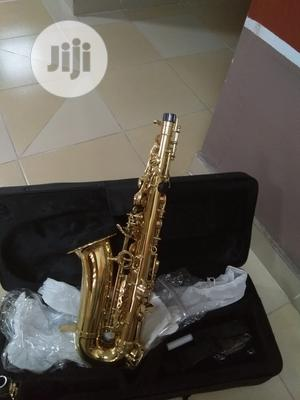 Original Alto Saxophone Premier England or Yamaha Products   Musical Instruments & Gear for sale in Lagos State, Ikeja