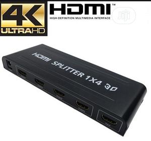 4 Way HDMI Splitter Amplifier - 1 In 4 Out 3D 1080p 4K Ultra HD   Accessories & Supplies for Electronics for sale in Lagos State, Ikeja
