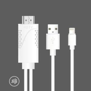 Lightning To Hdmi ( Lightning To Digital Av Cable) | Accessories & Supplies for Electronics for sale in Lagos State, Ikeja