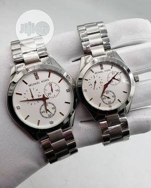 Micheal Kors Man & Woman Wrist Watch | Watches for sale in Lagos State, Lagos Island (Eko)