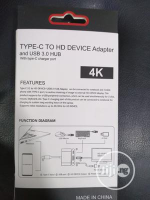 Type C to HD Device Adapter Usb 3.0 4k   Computer Accessories  for sale in Lagos State, Ikeja