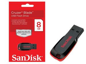 Sandisk Cruzer Blade 8GB USB 2.0 Flash Drive | Computer Accessories  for sale in Lagos State, Ikeja