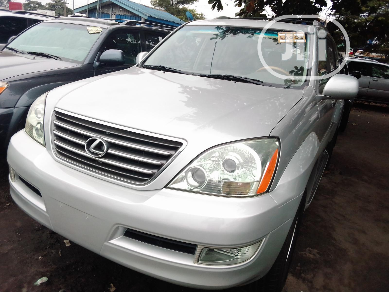 Lexus GX 2007 470 Silver | Cars for sale in Apapa, Lagos State, Nigeria