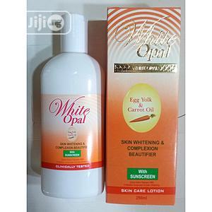 White Opal Egg Yolk Carrot Oil Skin Whitening Body Lotion -250ml | Skin Care for sale in Lagos State, Amuwo-Odofin