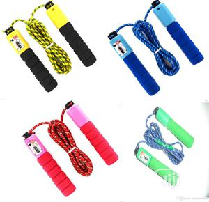 Skipping Rope With Counter | Sports Equipment for sale in Lagos State, Lagos Island (Eko)