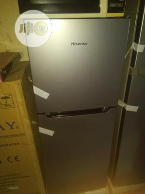 Brand New Hisense Double Door Fridge(REF182 DR)130L, Silver | Kitchen Appliances for sale in Lagos State, Ojo