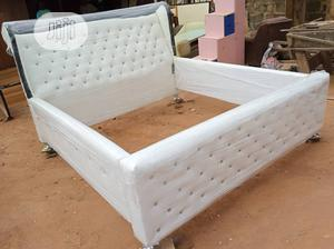 """""""6×6 Exotics Bed Frame With 2 Bed Side 