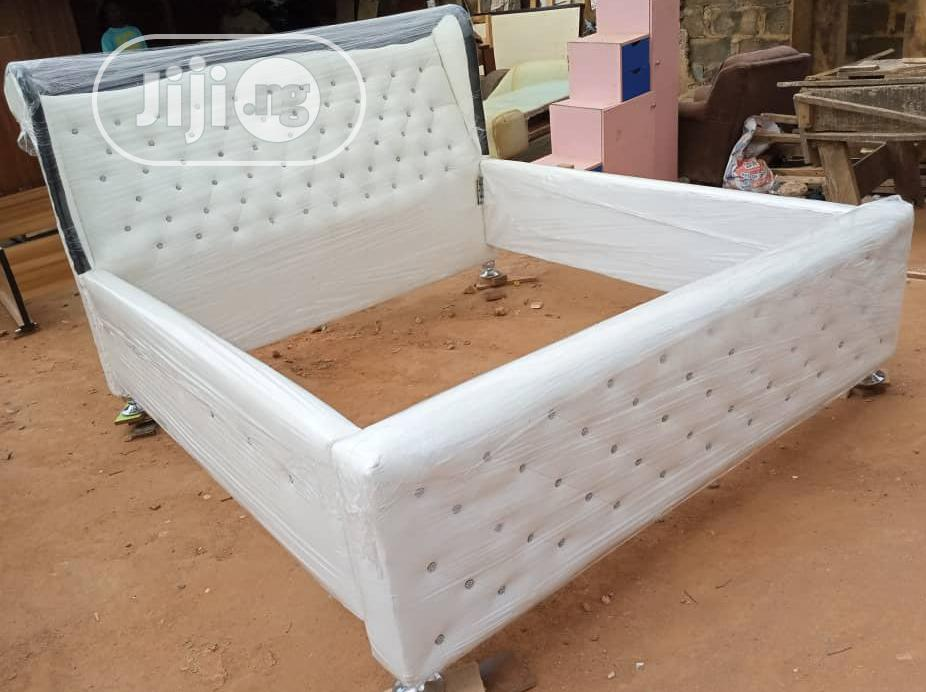 """""""6×6 Exotics Bed Frame With 2 Bed Side"""