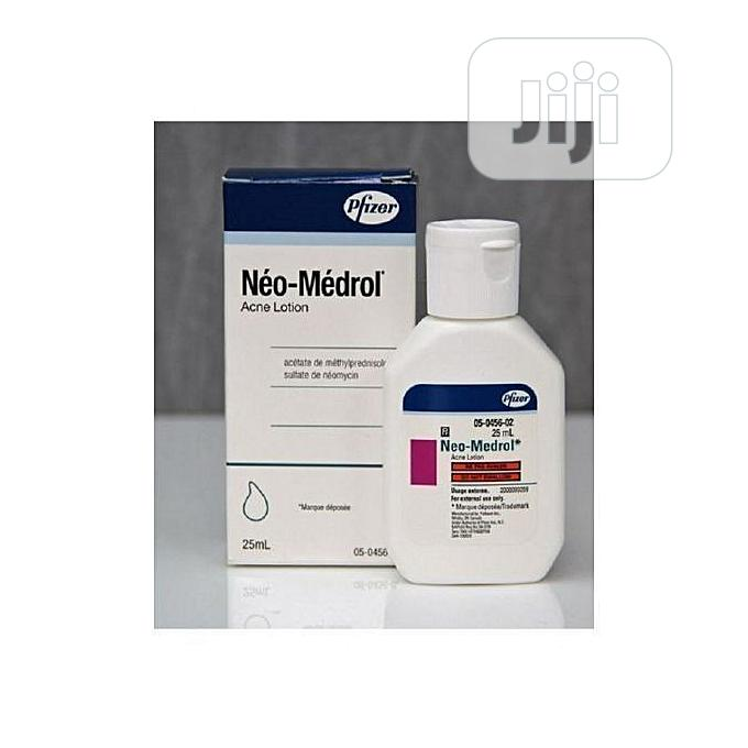 Neo Medrom Acne Lotion | Skin Care for sale in Surulere, Lagos State, Nigeria