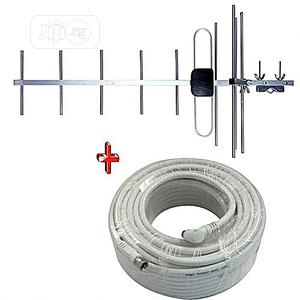 Startimes Antenna and 10m Cable for Startimes ,Gotv | Accessories & Supplies for Electronics for sale in Lagos State, Alimosho