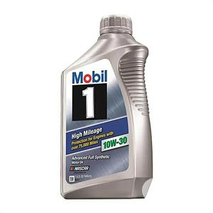 Mobil 1 10w-30 High Mileage Advance Full Synthetic 1quart   Vehicle Parts & Accessories for sale in Lagos State, Amuwo-Odofin
