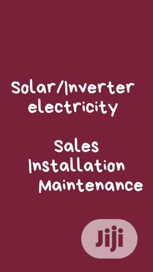 Inverter/Solar Sales Installation Lagos   Building & Trades Services for sale in Lagos State