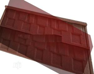 Quality Roman Gerard Stone Coated Roof (Aluminium Gutter) | Building Materials for sale in Lagos State, Yaba