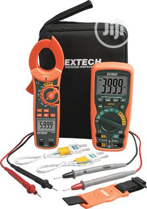Extech Industrial Multimeter And Clamp Meter Kit | Measuring & Layout Tools for sale in Lagos State, Ojo