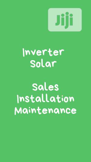 Inverter Solar Sales Installation Maintenance Lagos   Building & Trades Services for sale in Lagos State, Lekki