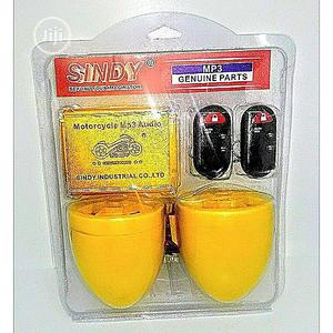 Sindy Motorcycle Anti Theft Alarm System With FM MP3 Sound.   Safetywear & Equipment for sale in Lagos State, Alimosho