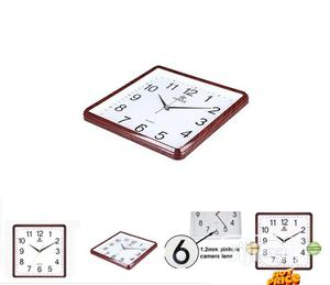 Hidden Spy Wall Clock Wifi Camera With Smartphone Access | Security & Surveillance for sale in Lagos State, Ikeja