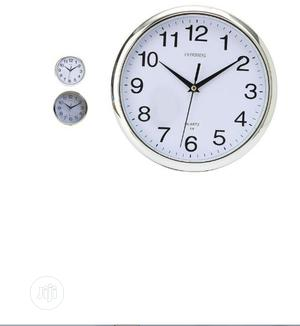 1080p Wifi Spy Hidden Wall Clock Camera Ios Android   Security & Surveillance for sale in Lagos State, Ikeja