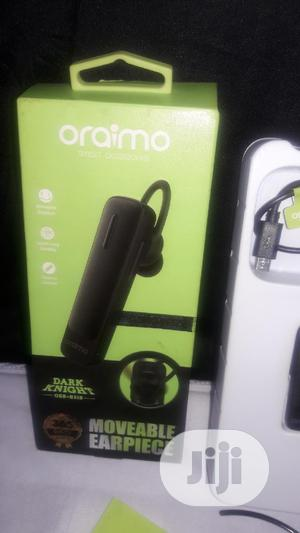 Oraimo Bluetooth Moveable Earpiece | Accessories for Mobile Phones & Tablets for sale in Lagos State, Ikotun/Igando
