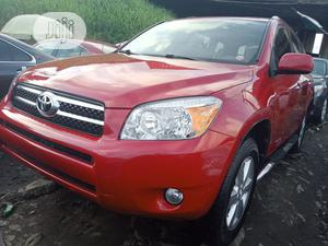 Toyota RAV4 2007 Sport 4x4 Red   Cars for sale in Lagos State, Apapa