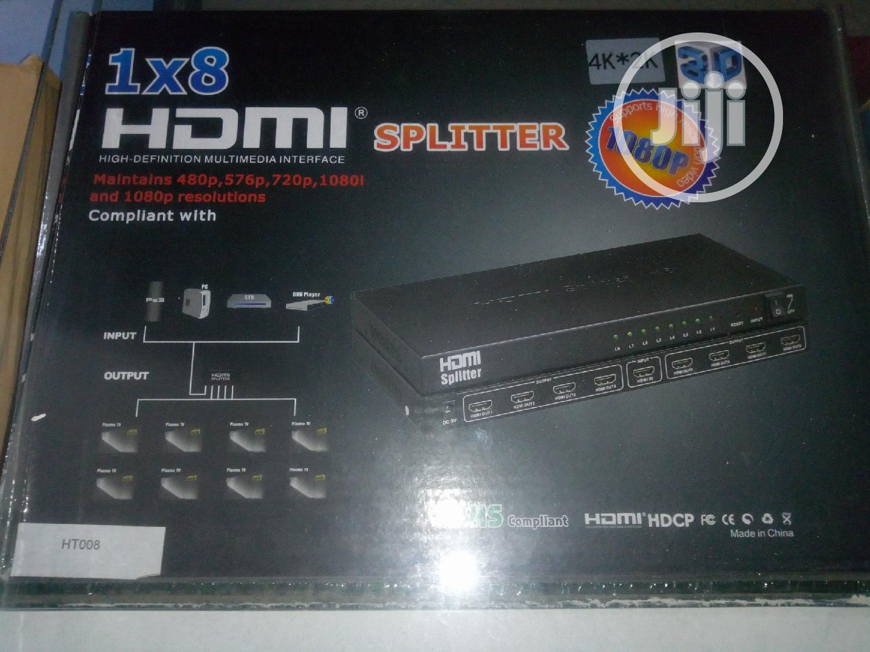 High Quality 3D 8 Ways HDMI Spliter