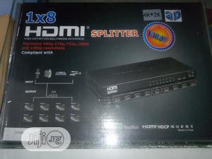 High Quality 3D 8 Ways HDMI Spliter | Accessories & Supplies for Electronics for sale in Lagos State, Ojo