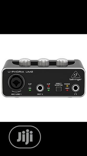 Behringer Solo Soundcard Behringer Um2 | Audio & Music Equipment for sale in Lagos State, Ojo