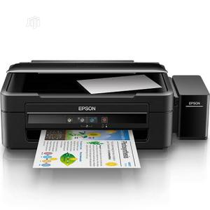 Epson L382 Colour Ink Tank System 3-In-1 Printer   Printers & Scanners for sale in Lagos State, Ikeja