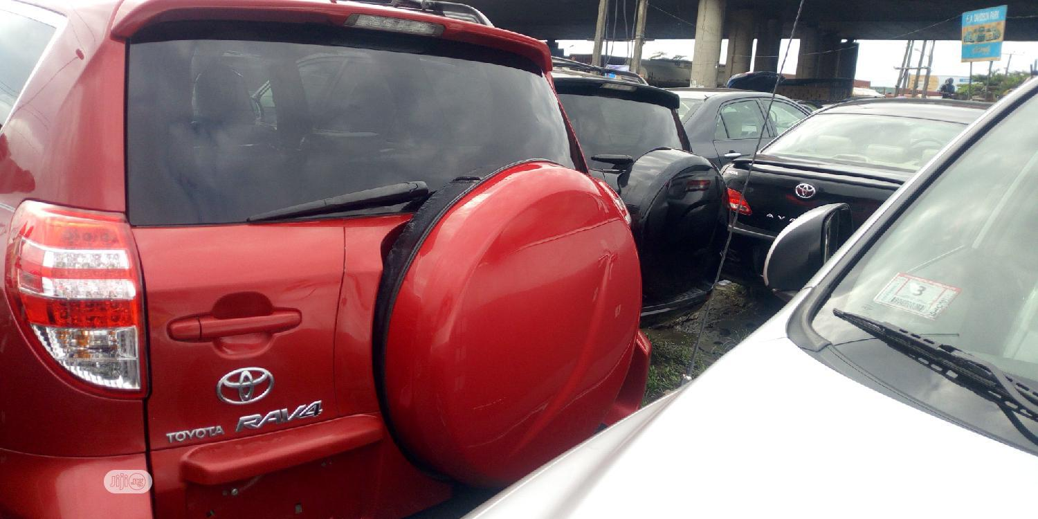 Toyota RAV4 2010 2.5 Limited Red | Cars for sale in Amuwo-Odofin, Lagos State, Nigeria