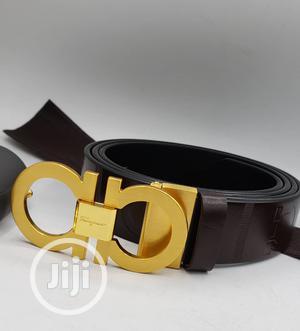 Designer Ferragamo Geniune Leather Belt   Clothing Accessories for sale in Lagos State, Lagos Island (Eko)