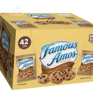 Famous Amos Cookies Bites Size 42packs   Meals & Drinks for sale in Lagos State, Lagos Island (Eko)