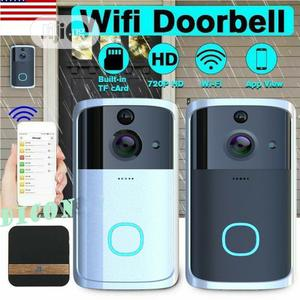 Wifi Video Camera Doorbell With Night Vision | Home Appliances for sale in Lagos State, Ikeja