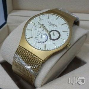 Tissot 1853 Chronograph Gold Watch   Watches for sale in Lagos State, Oshodi