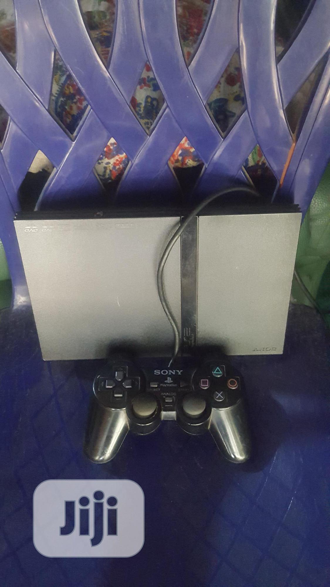 Playstation (PS2 Slim)..Clean London Used