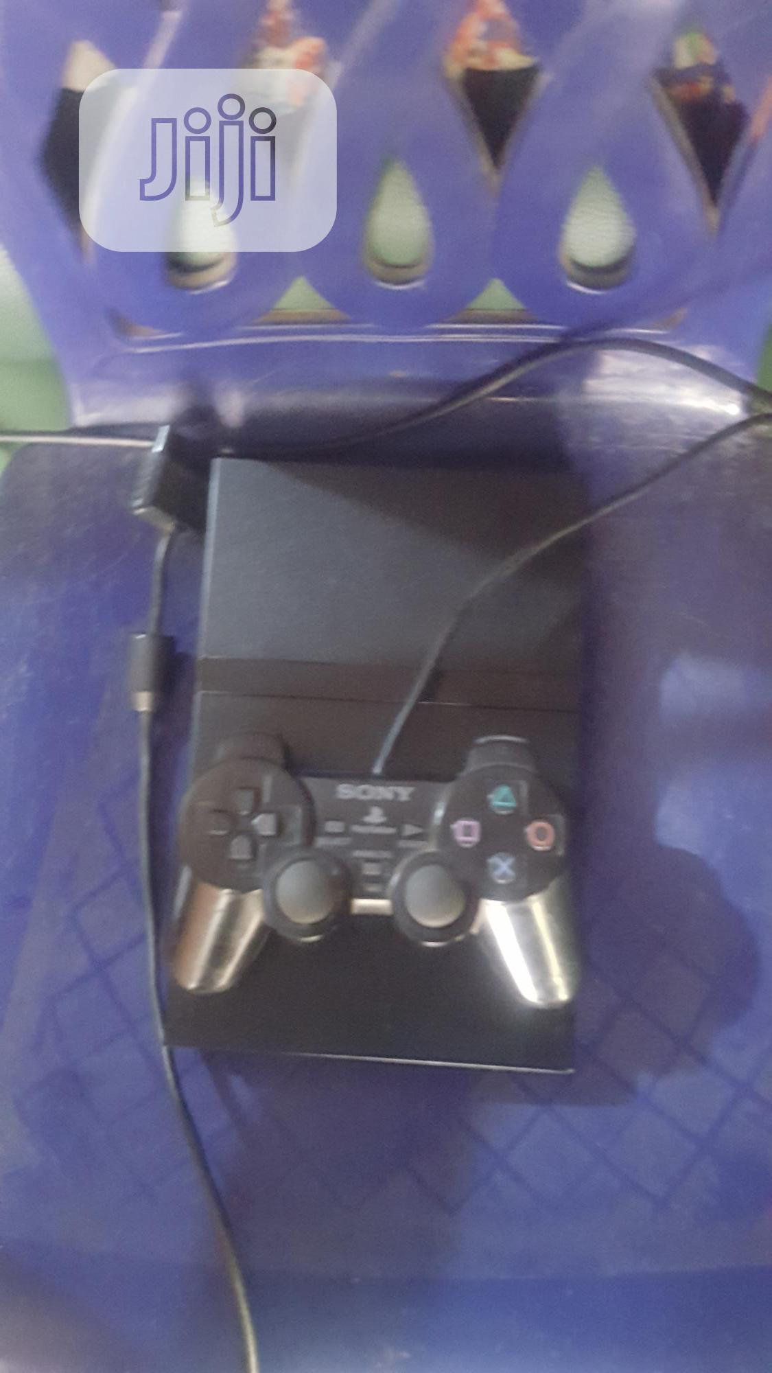 Playstation (PS2 Slim)..Clean London Used | Video Game Consoles for sale in Ikeja, Lagos State, Nigeria