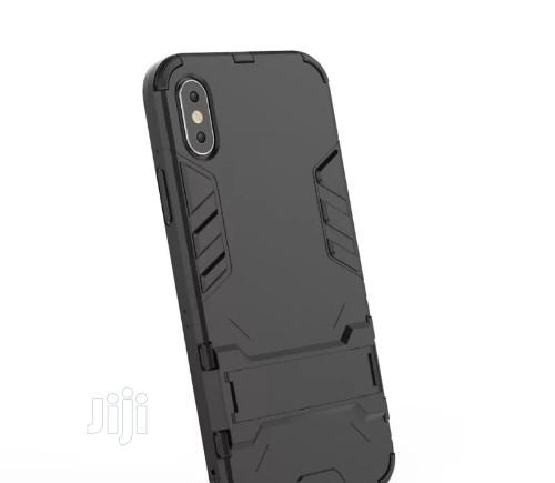 Kick Stand Case for iPhone XS, X   Accessories for Mobile Phones & Tablets for sale in Port-Harcourt, Rivers State, Nigeria