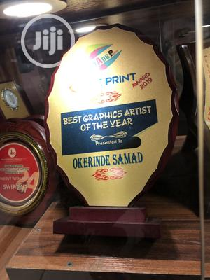 Wood Award Plaque | Arts & Crafts for sale in Lagos State