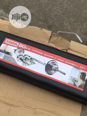 50kg Barbell Set | Sports Equipment for sale in Lagos State, Agboyi/Ketu