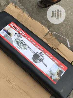 50kg Barbell With Dumbell Rod | Sports Equipment for sale in Lagos State, Agege