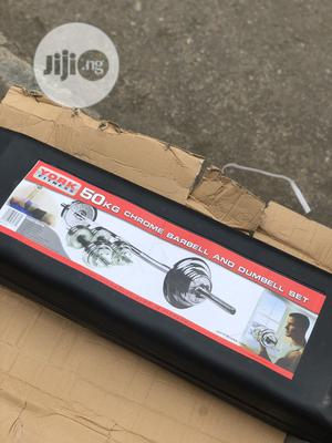 50kg Case Barbell | Sports Equipment for sale in Lagos State, Ajah