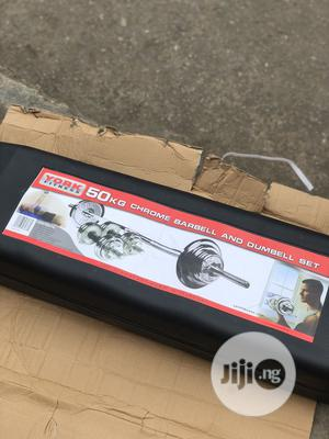 50kg Barbell With Case | Sports Equipment for sale in Lagos State, Amuwo-Odofin
