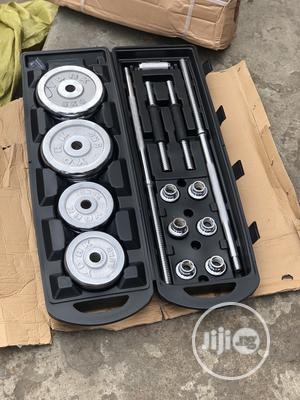 50kg Barbell With Case | Sports Equipment for sale in Lagos State, Ikeja