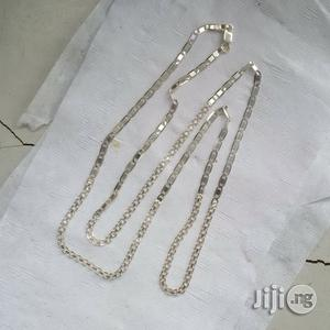Original ITALY 925 Solid Silver Mixed Design Long Length | Jewelry for sale in Lagos State, Lagos Island (Eko)