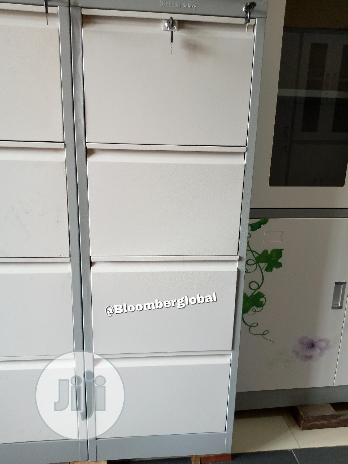 Office Metal File Cabinet With Safe | Furniture for sale in Ojo, Lagos State, Nigeria