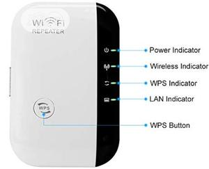 300mbps Wireless Wifi Repeater/Extender Wi-Fi Signal   Networking Products for sale in Lagos State, Ikeja