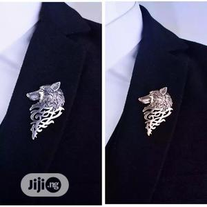Wolf Brooch Vintage Punk Unisex | Jewelry for sale in Lagos State, Surulere