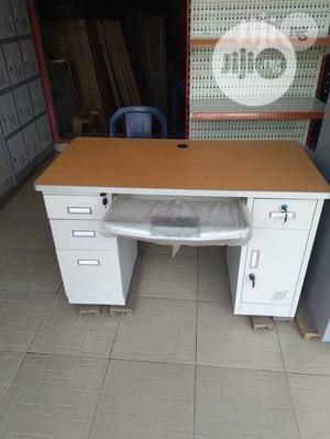 Office Tables 4feet Metal and Wooden Top | Furniture for sale in Lagos State, Lagos Island (Eko)