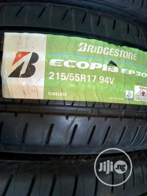 Bridgestone Tyres.. Japan Premium Quality..215/55/17 18months Warranty   Vehicle Parts & Accessories for sale in Lagos State, Ikeja